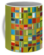 Color Study Collage 64 Coffee Mug by Michelle Calkins
