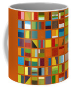 Color Study Collage 66 Coffee Mug by Michelle Calkins
