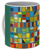 Color Study Collage 67 Coffee Mug