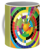 Color Wheel Coffee Mug