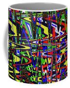 Color Works Abstract Coffee Mug