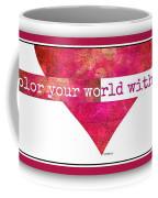 Color Your World 2 Coffee Mug