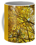 Colorado Aspens In Fall Coffee Mug