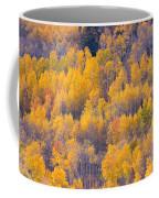 Colorado Autumn Trees Coffee Mug