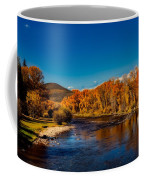 Colorado Cottonwoods In Autumn Coffee Mug