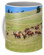 Colorado Elk Herd Coffee Mug