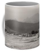 Colorado Farming Panorama View In Black And White Pt 1 Coffee Mug