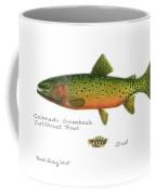 Colorado Greenback Cutthroat Trout Coffee Mug