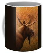 Colorado Moose Coffee Mug by James W Johnson
