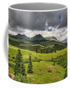 Colorado Mountains After Summer Rain Coffee Mug