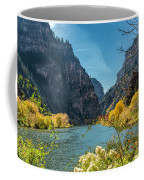 Colorado River And Glenwood Canyon Coffee Mug by Jemmy Archer