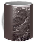 Colorado River At Desert View Grand Canyon Coffee Mug