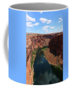 Colorado River At Glen Canyon Dam Coffee Mug