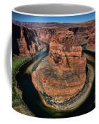 Colorado River Circles Horseshoe Bend Page Arizona Usa Coffee Mug