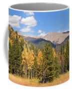 Colorado Rockies National Park Fall Foliage Panorama Coffee Mug