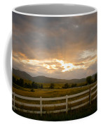 Colorado Rocky Mountain Country Sunset Coffee Mug