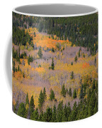 Colorado Rocky Mountains Autumn Colors Coffee Mug