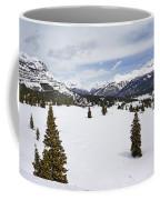 Colorado Snow Scene Coffee Mug