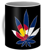 Colorado Weed Leaf Coffee Mug