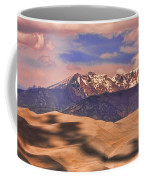 Colorado's Great Sand Dunes Shadow Of The Clouds Coffee Mug