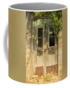 Colorful Zeytinli Village Door Coffee Mug