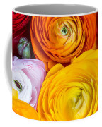Colored Buttercup Flowers Coffee Mug