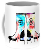 Colored Chanel Boots Coffee Mug