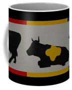 Colored Cows Coffee Mug