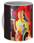 Colored Forms IIi By August Macke Coffee Mug