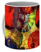 Colored Glass Art Coffee Mug