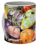 Colored Hearts Coffee Mug