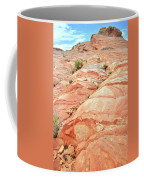Colored Hill In Valley Of Fire Coffee Mug