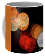 Colored Moons 3 Coffee Mug