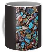 Colored Polished Stones Coffee Mug
