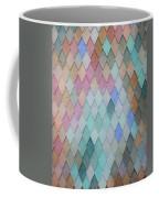 Colored Roof Tiles - Painting Coffee Mug
