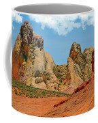 Colored Sandstones Valley Of Fire Coffee Mug