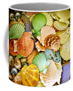Colored Shells Coffee Mug