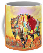 coloredd Buffalo Coffee Mug
