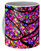 Colorful Abstract Rose  Coffee Mug