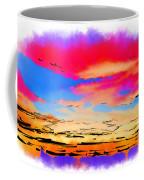Colorful Abstract Sunset Coffee Mug