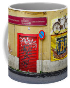 Colorful Advertising In Palma Majorca Spain Coffee Mug