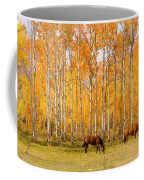 Colorful Autumn High Country Landscape Coffee Mug