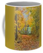 Colorful Autumn Trail Coffee Mug