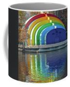 Colorful Bandshell And Swan Coffee Mug