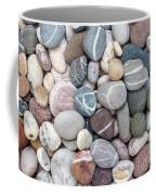 Colorful Beach Pebbles Coffee Mug