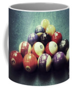 Colorful Billiard Balls Coffee Mug