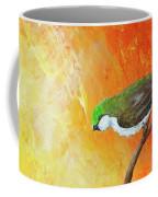 Colorful Bird Art Coffee Mug