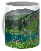 Colorful Blue Lakes Landscape Coffee Mug