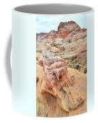 Colorful Boulder Above Wash 3 In Valley Of Fire Coffee Mug