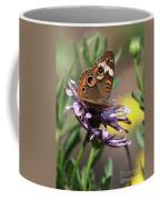 Colorful Butterfly On Daisy Coffee Mug